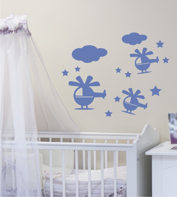 kinderzimmer wandgestaltung wandtattoo wandtattoo blog. Black Bedroom Furniture Sets. Home Design Ideas