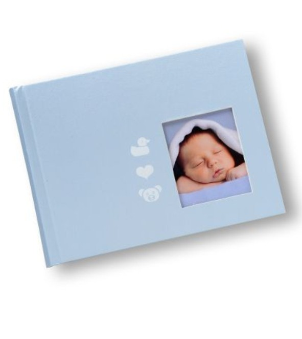 Babyalbum mini in Hellblau