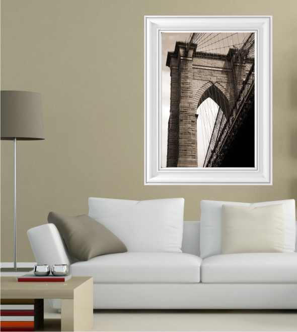 Brooklyn Bridge als Posterdruck
