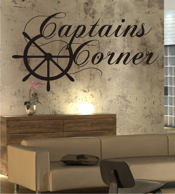Captains Corner als Wandtattoo