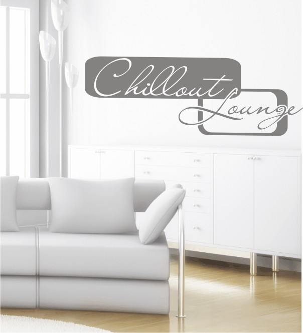 Chillout Lounge 2 als Wandtattoo