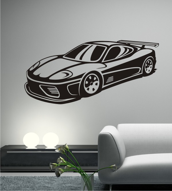 Dream Car 9 als Wandtattoo