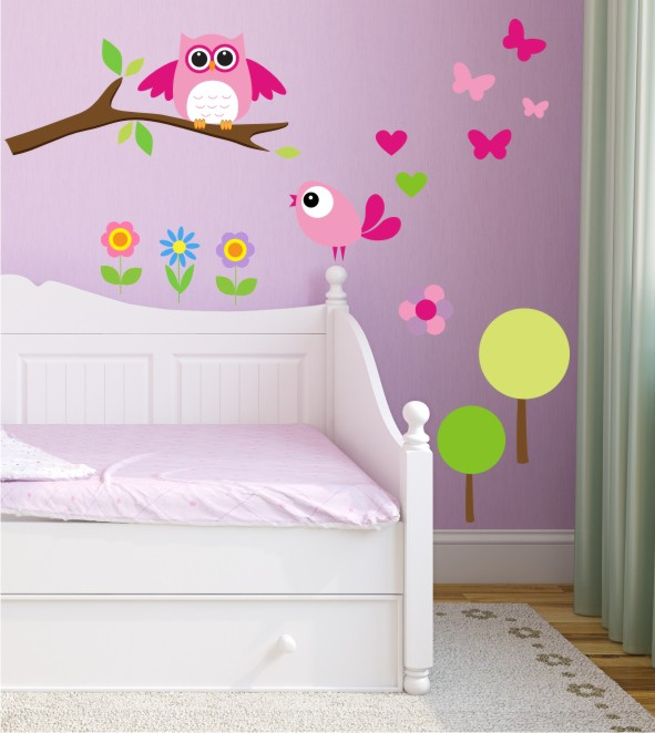 s e wandsticker f r das kinderzimmer gestalte dir dein. Black Bedroom Furniture Sets. Home Design Ideas