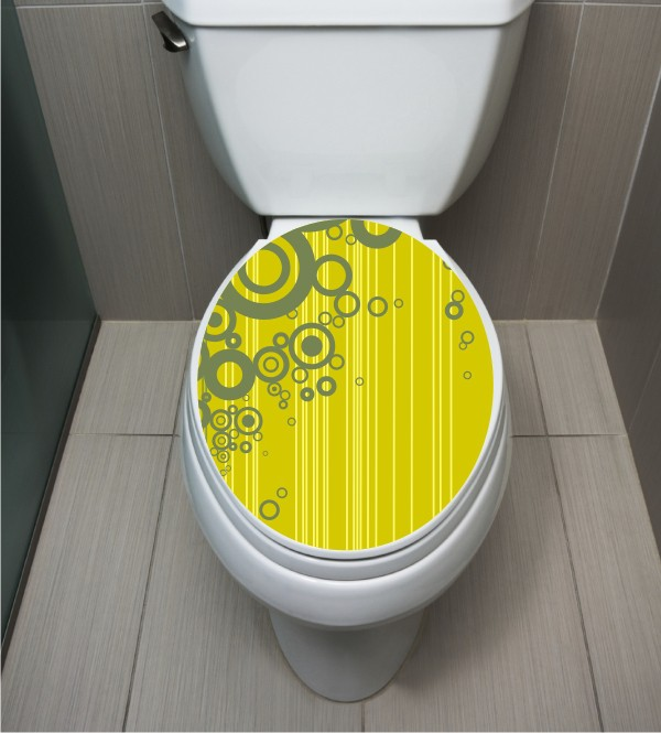 WC Sticker Green Circle
