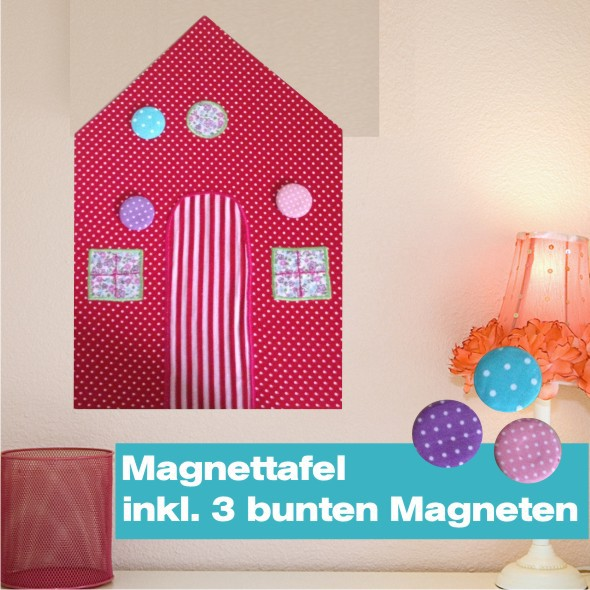 Magnettafel Red House
