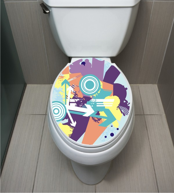 WC Sticker Modern