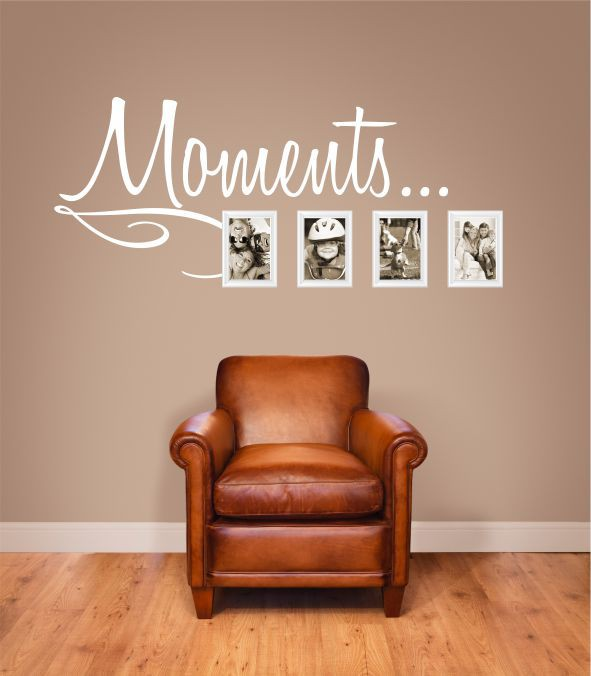 Moments... als Wandtattoo