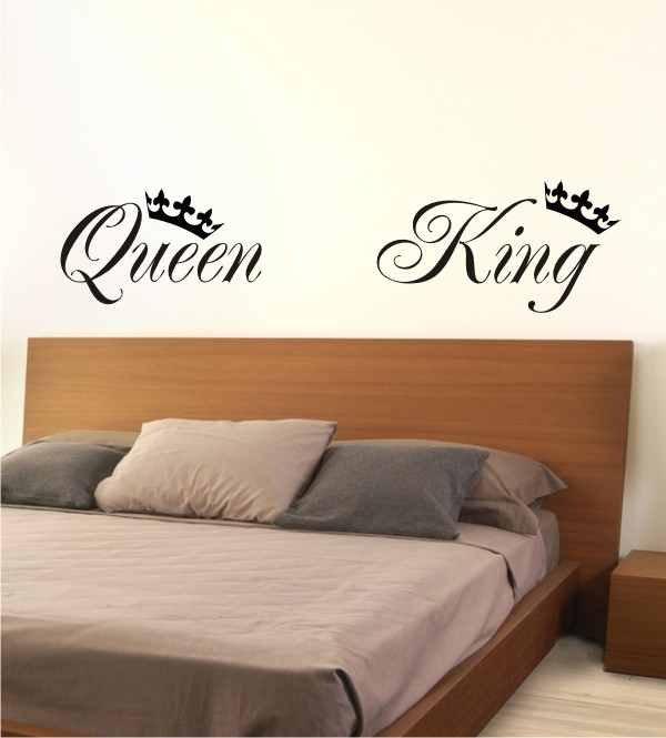 Queen & King als Wandtattoo