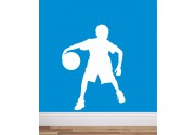 Basketball als Wandtattoo