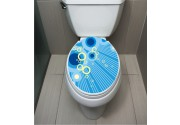 WC Sticker Blue Circle