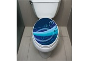 WC Sticker Blue Waves