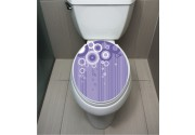 WC Sticker Circle Purple
