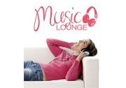 Music Lounge als Wandtattoo