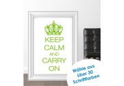 Keep Calm als Posterdruck