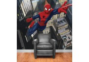 Spiderman als Fototapete