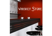 Whiskey Store als Wandtattoo