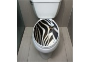 WC Sticker Zebra