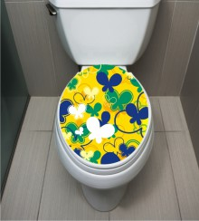 WC Sticker Butterfly