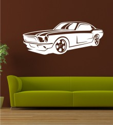 Dream Car 12 als Wandtattoo