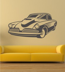 Dream Car 8 als Wandtattoo