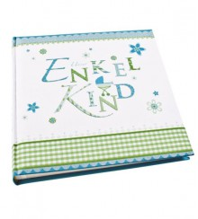 "Enkelkindalbum ""lovely"" blau"