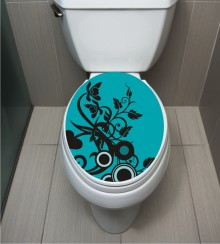 WC Sticker Flower
