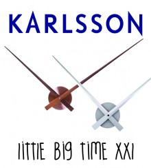 "Wanduhr Karlsson ""Little Big Time XXL"""
