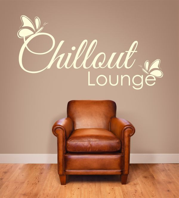 Chillout Lounge 3 als Wandtattoo