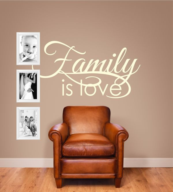 Family is...als Wandtattoo