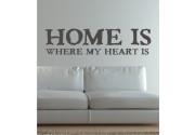 Home is where my... als Wandtattoo