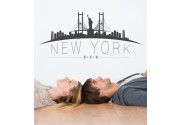 New York Skyline als Wandtattoo