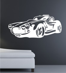 Dream Car 10 als Wandtattoo