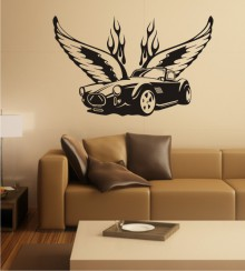 Dream Car 2 als Wandtattoo